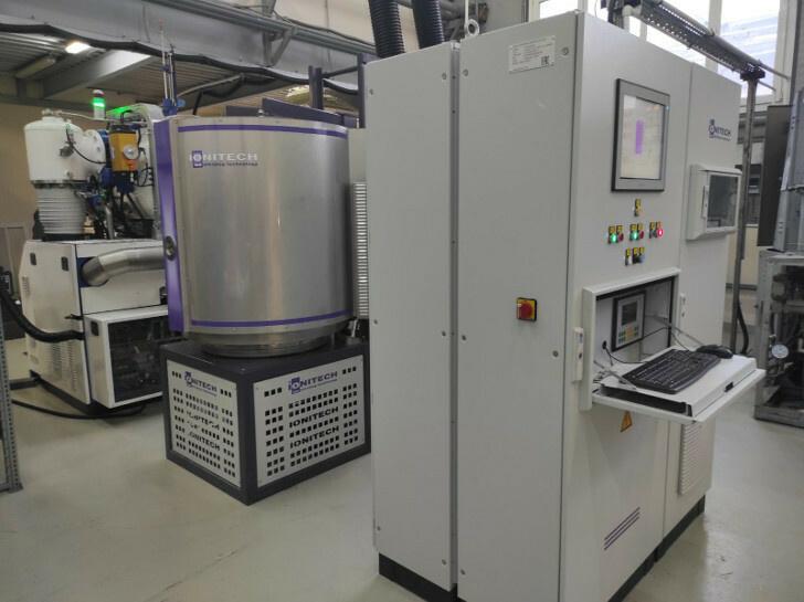 Установка ионного азотирования ION 25HWI в цехе АК Рубин
