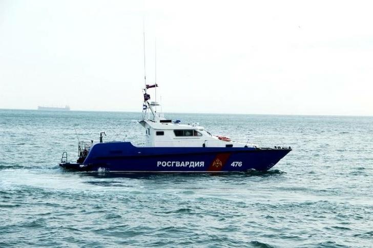 Росгвардия получила шесть катеров типа «Сарган» для работы в Керченском проливе